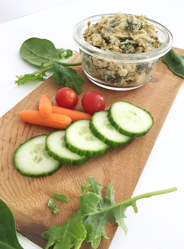 Artichoke Dip that none of your guest will suspect to be dairy free