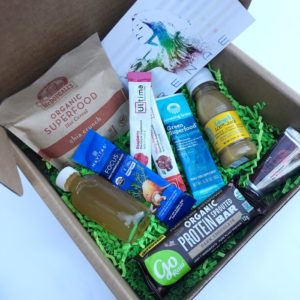 Healthy travel box