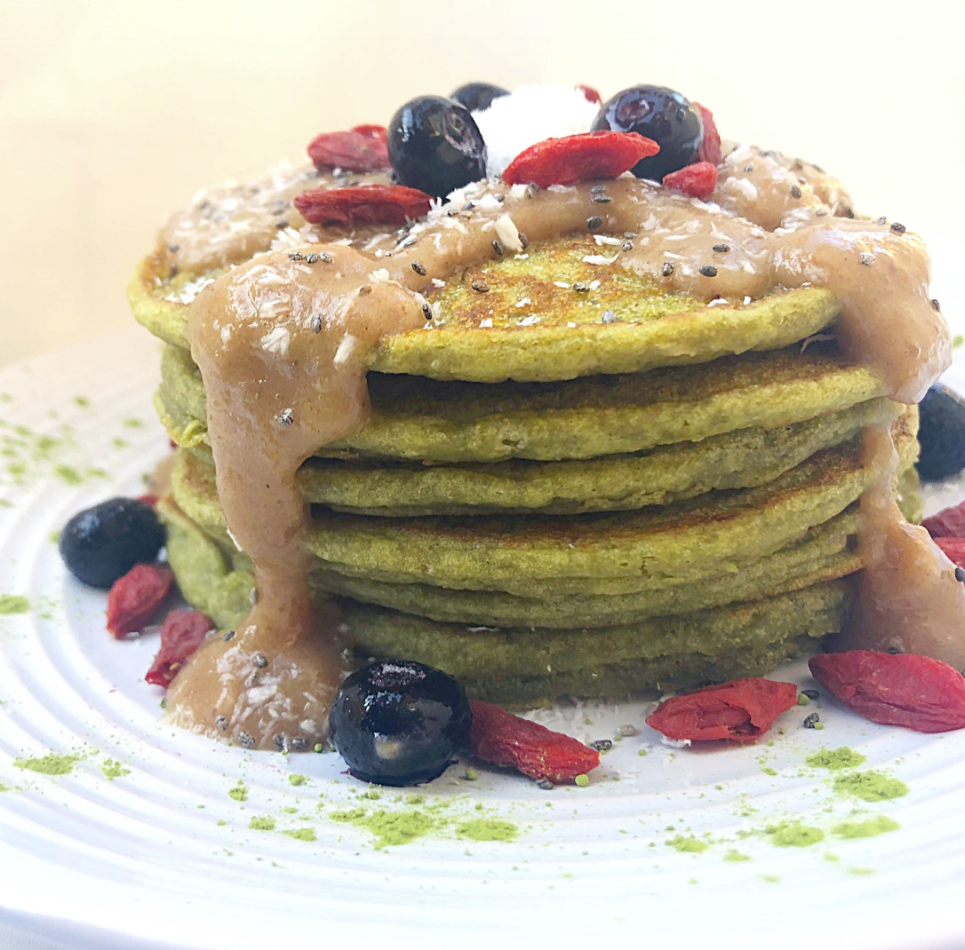 Matcha Pancakes 🥞